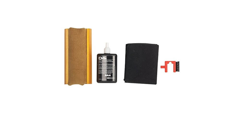 RCA RD1006 Discwasher Vinyl Record Cleaning Kit - Quality and safety when cleaning