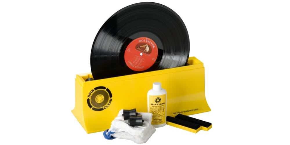 SPIN-CLEAN - quick cleaning with STARTER KIT VINYL WASHER SYSTEM Mk2