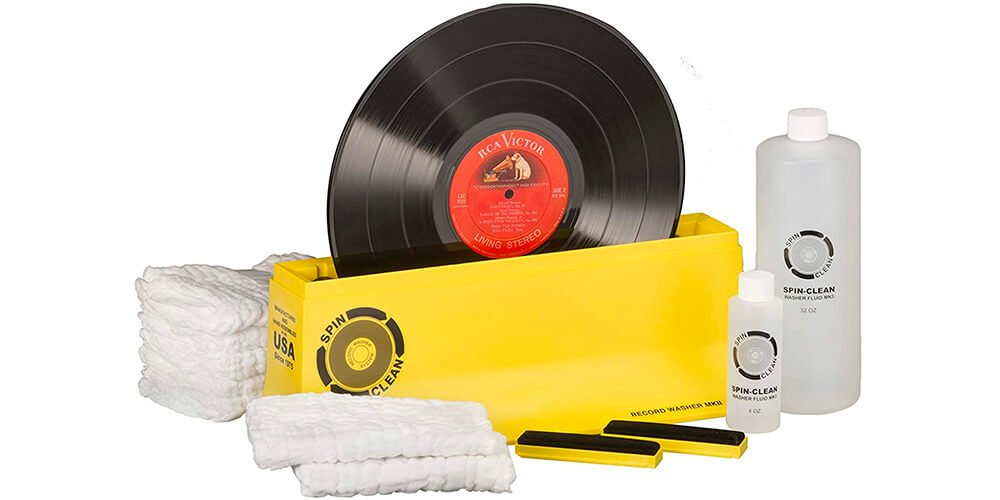 cleaning vinyl records with vinegar