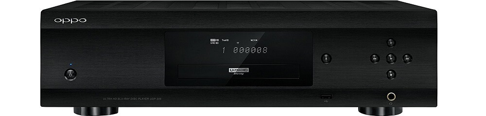 Oppo UDP-205 - Best region free blu ray player