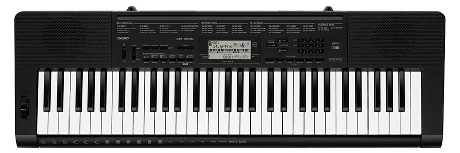 Casio CTK-3500 61-Key Touch Sensitive Portable Keyboard