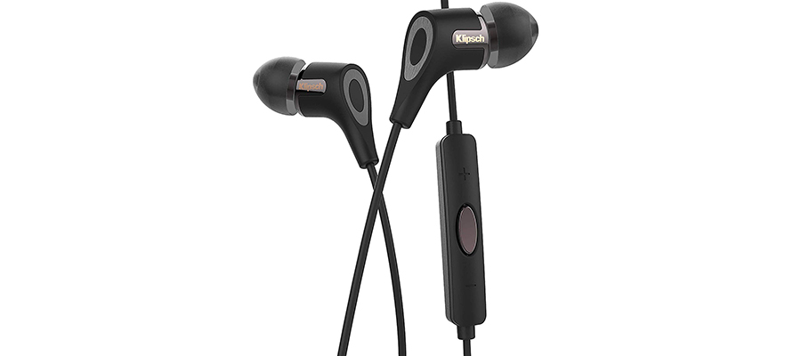 Klipsch R6i II in-Ear Headphone Black in-Ear Headphone