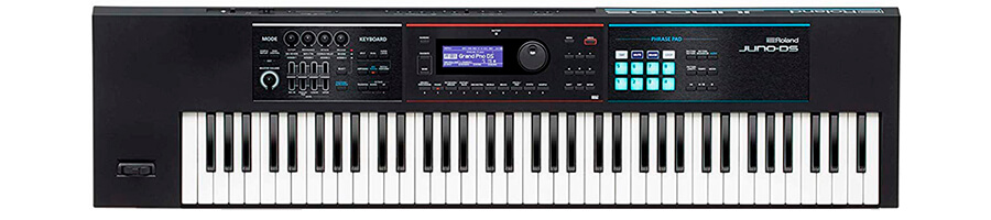 Roland JUNO-DS76 Lightweight Keyboard with Pro Sounds