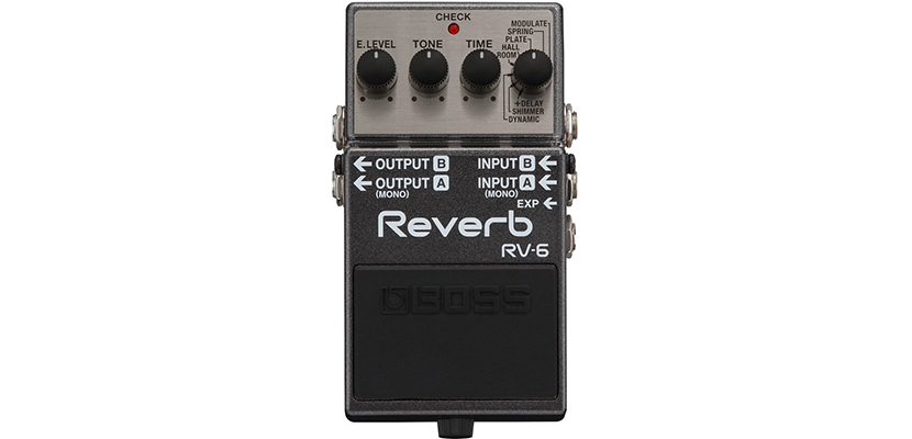 BOSS RV-6 Reverb Guitar Pedal