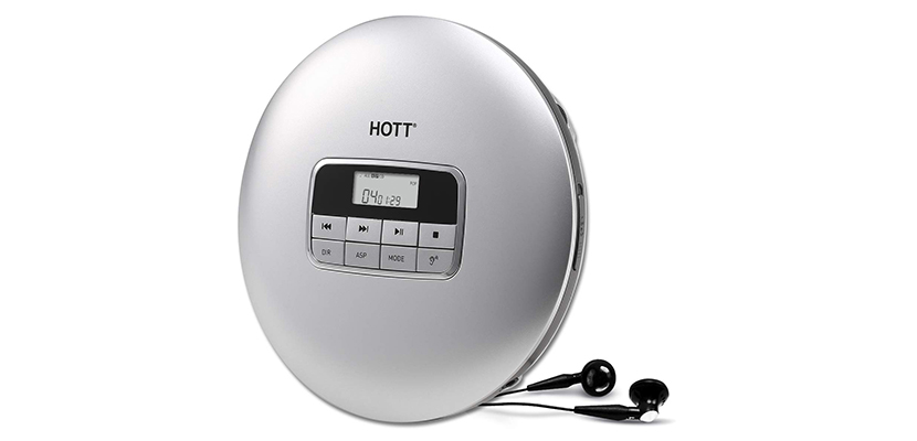 HOTT Bluetooth Portable CD Player