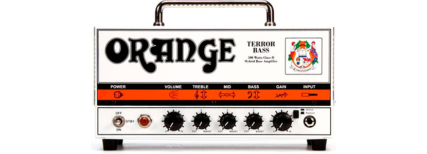Orange Terror Bass 500-Watt Bass Head