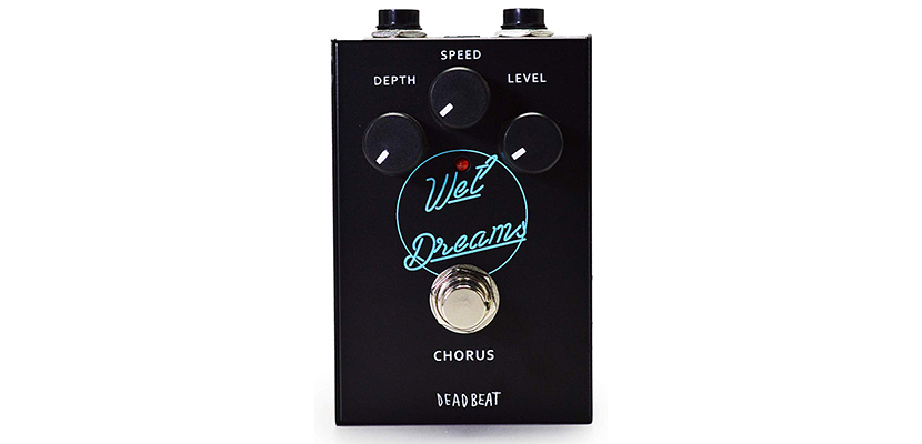 WET DREAMS Analog Chorus Effect Pedal