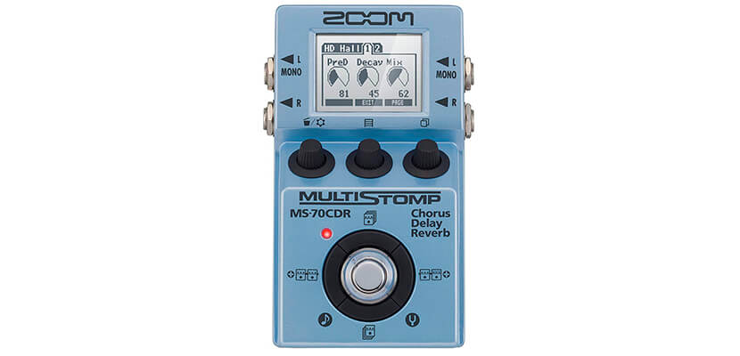 Zoom ZMS70CDR Chorus/Delay/Reverb Pedal