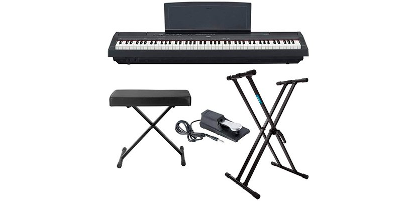 Yamaha P125 with stand