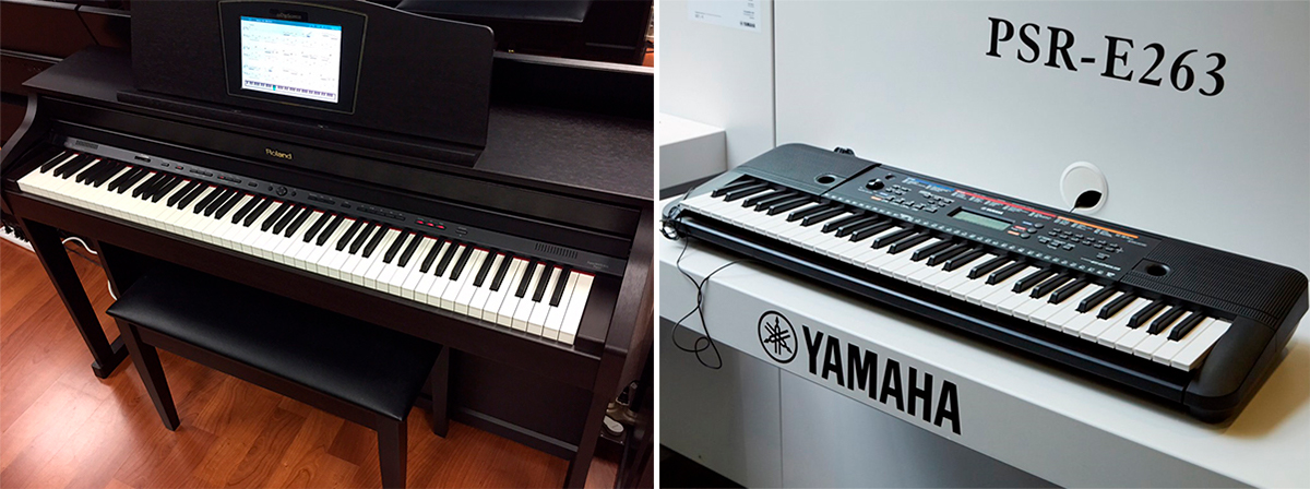 Digital Piano vs Keyboard: How Different are They?