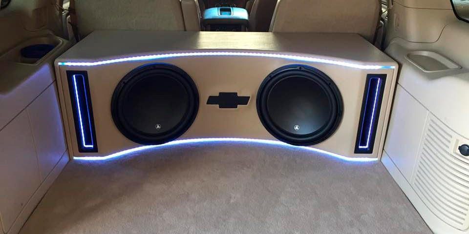 how to make a subwoofer box for home