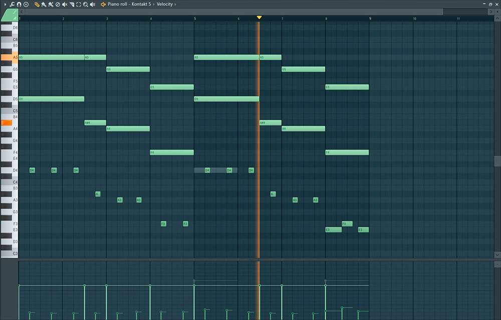 how to use a keyboard as a piano in FL Studio